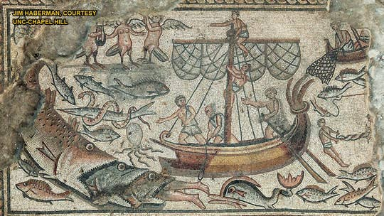Stunning biblical mosaics revealed in detail for the first time
