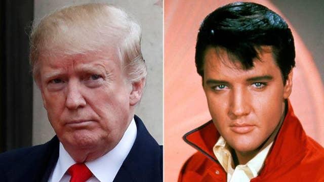 Trump accused of racism for honoring Elvis