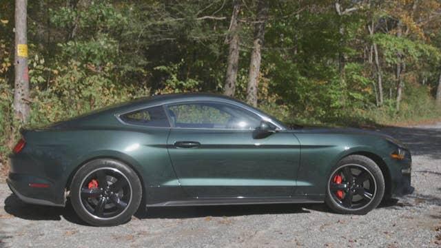 2019 Ford Mustang GT Bullitt test drive