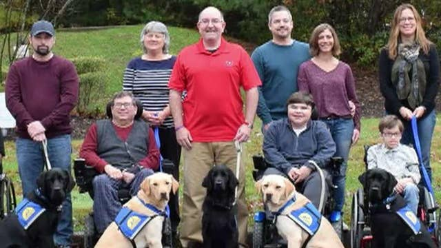 Fox News tours Canine Companion's New England campus