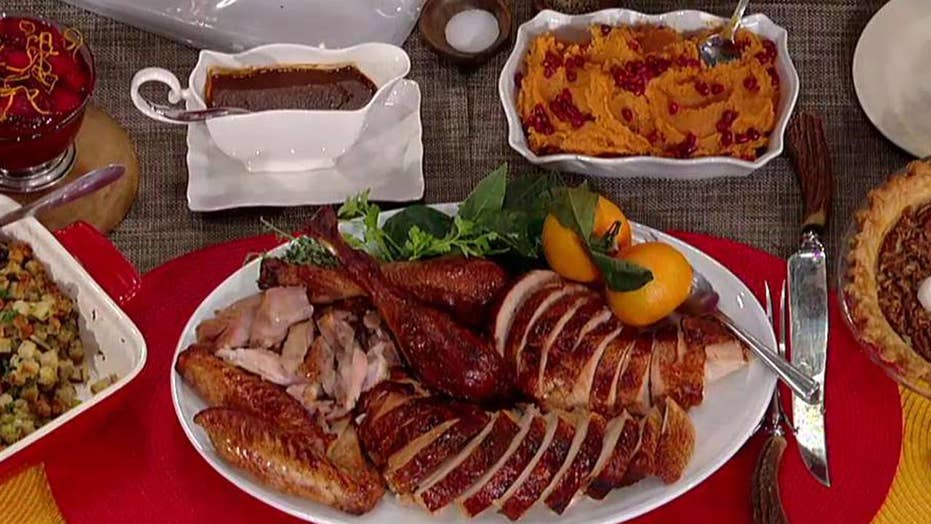Cooking with 'Friends': Steve Doocy's Thanksgiving recipes