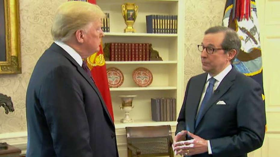 Chris Wallace previews his interview with President Trump