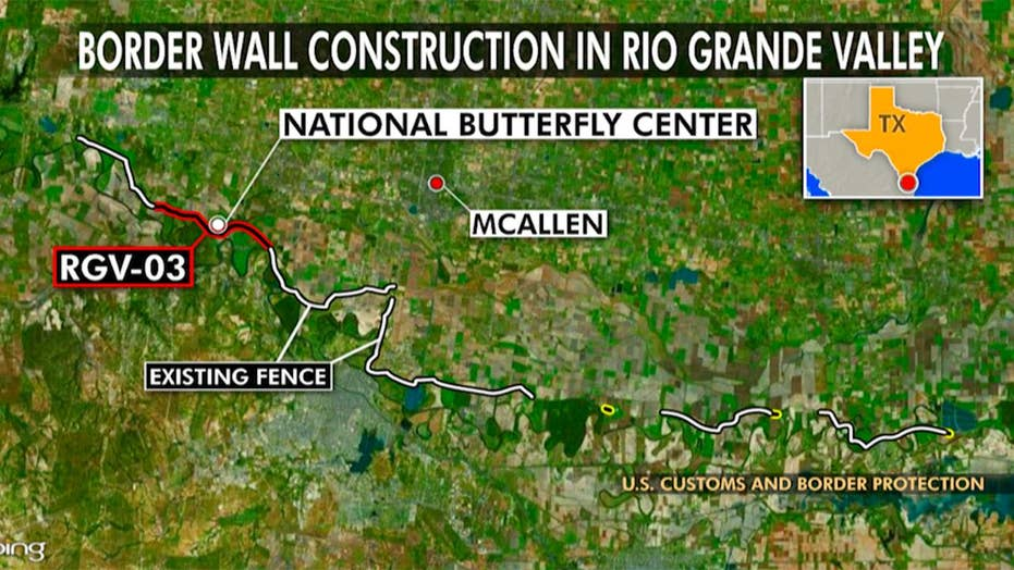 BREAKING NEWS: Construction of 33 Miles of Border Wall To