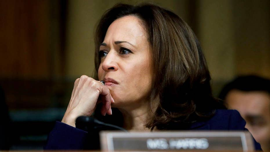 Harris under fire for drawing parallels between ICE and KKK