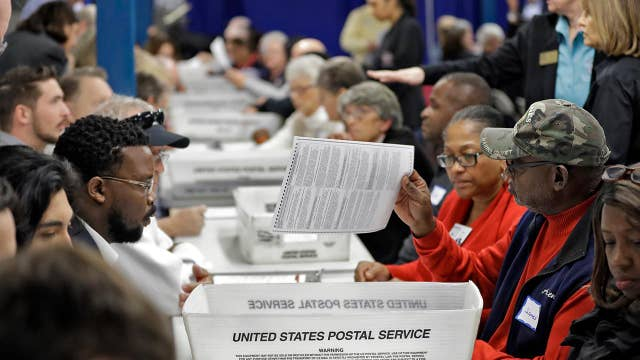 Hand recount of Florida's Senate race nears completion