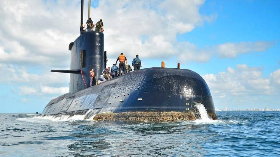 Missing Argentinian navy submarine found