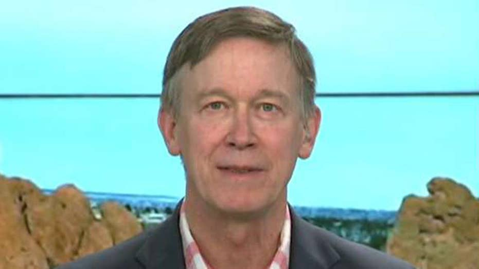 Is Gov. Hickenlooper looking ahead to 2020?