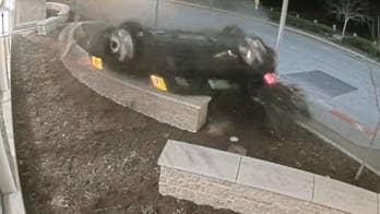 Speeding driver, allegedly high on prescription meds, crashes into police station outside Chicago