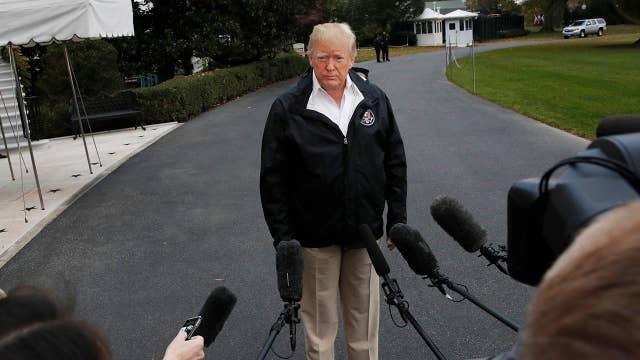 Press paints Trump as furious