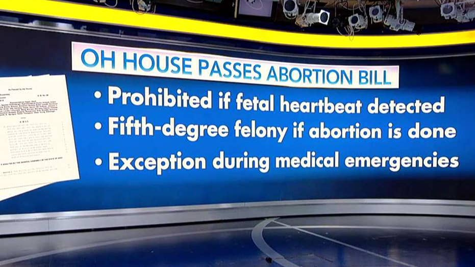 Ohio House passes anti-abortion 'heartbeat bill'