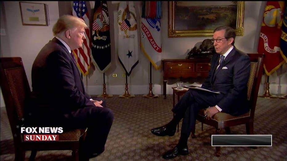 Trump Talks Mueller Probe, Midterm Elections on 'Fox News Sunday'