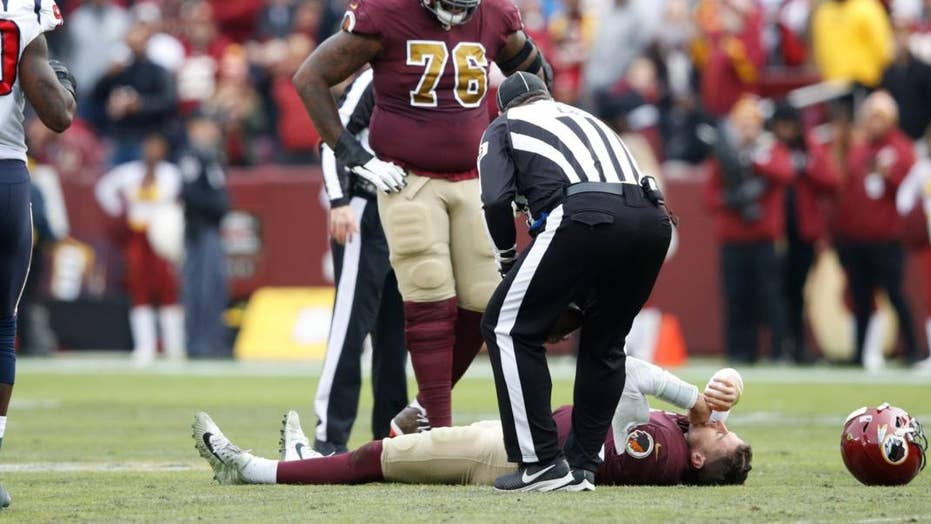 Redskins quarterback suffers gruesome injury