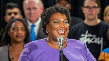 Stacey Abrams calls Georgia a 'purple state' after putting up historic challenge