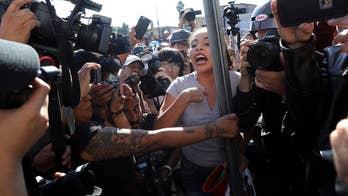Tijuana protests against migrant caravan escalate