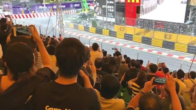 Driver fractures spine in Macau Grand Prix crash in China