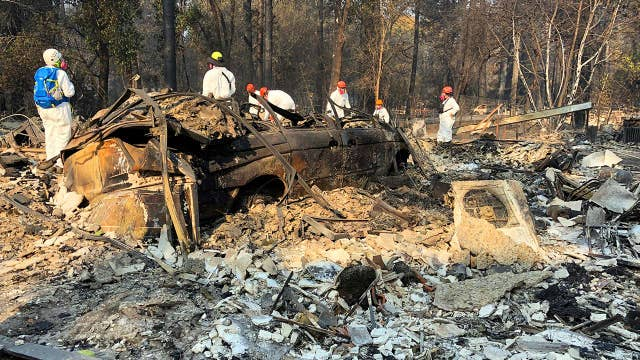 Race against time to locate victims in Paradise, California