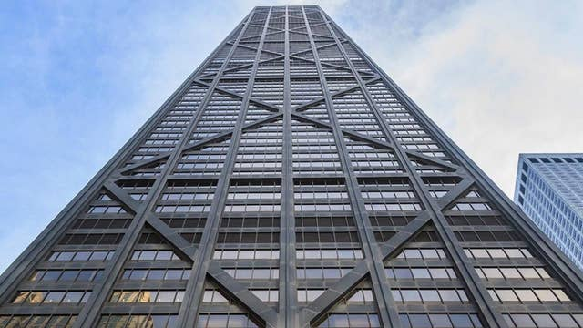 An elevator at one of Chicago's tallest skyscrapers plunges 84 floors