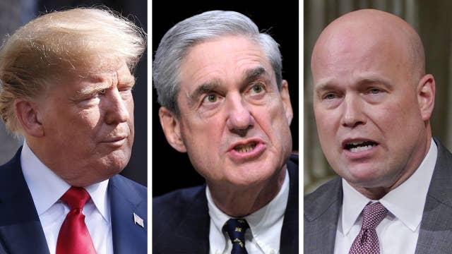 Trump says he won't overrule Whitaker if he limits Mueller