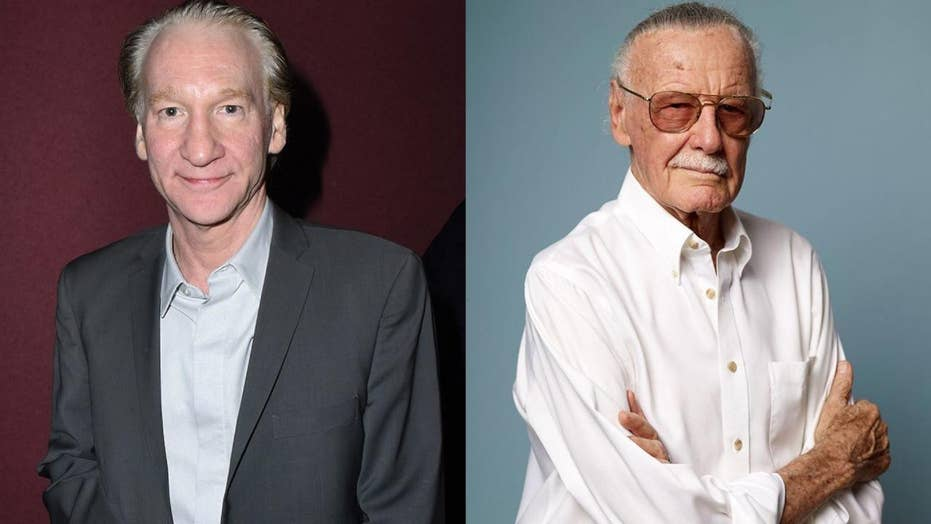 Bill Maher trashed by Stan Lee fans and comic book fans