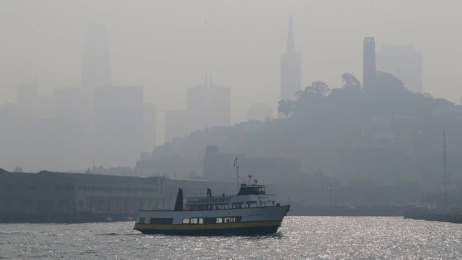 Deadly wildfires create dangerous air quality in California