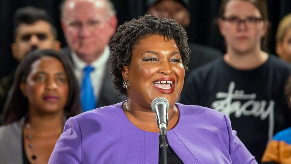 Stacey Abrams pushes back on effort to boycott Georgia