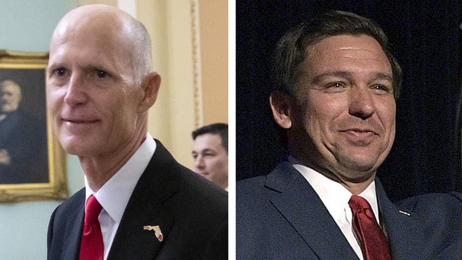 Republicans win Florida Senate, governor races
