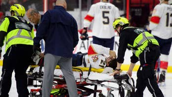 Florida Panther Vincent Trocheck suffers gruesome leg injury