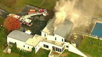 New Jersey mansion fire leaves multiple dead; arson being investigated