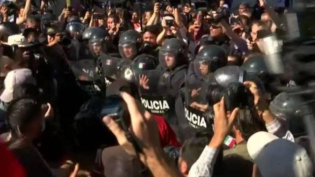 Tijuana not ready to handle 'avalanche' of migrants