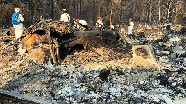 Butte County official: Looks like bomb went off in Paradise