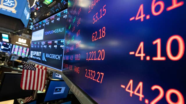 Stocks tumble as S&P and Dow wipe out 2018 gains