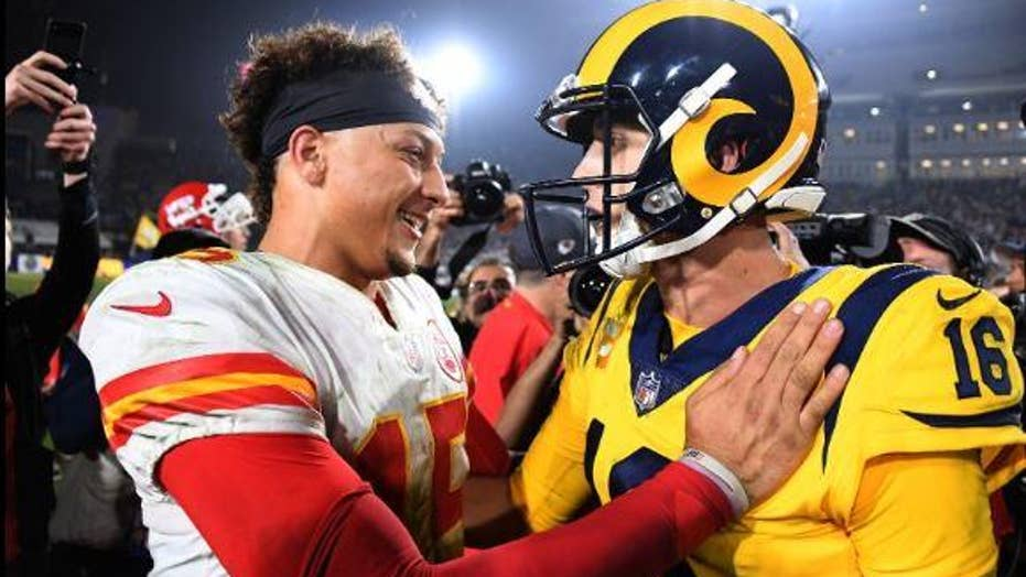 LA Rams, Kansas City Chiefs have historic Monday night football game
