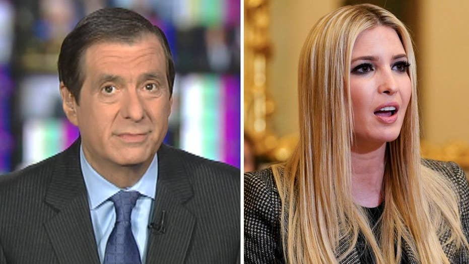 Kurtz: Why there's no comparison between Hillary and Ivanka email mess