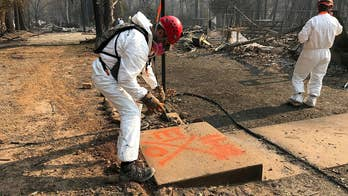 Wildfire crews face race against time as weather closes in