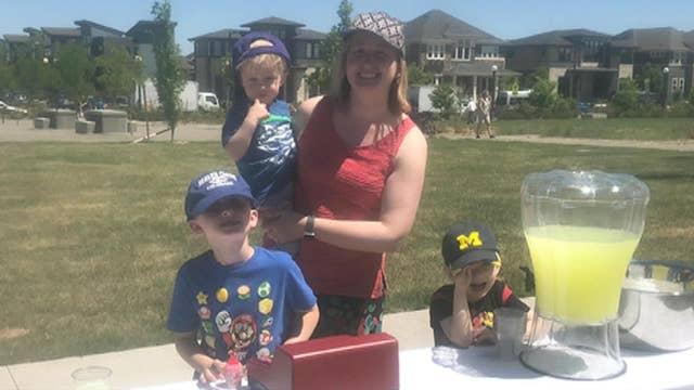 Denver mom takes a stand for lemonade stands