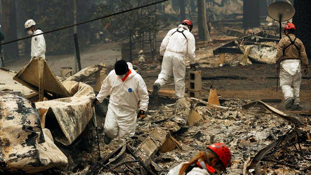 Heavy rains expected to both help and hurt wildfire efforts