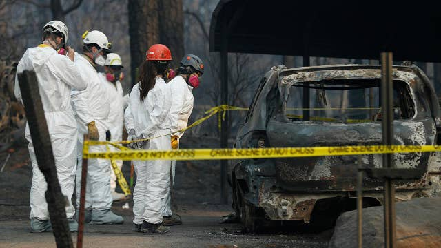 Authorities face challenge to identify victims of Camp Fire