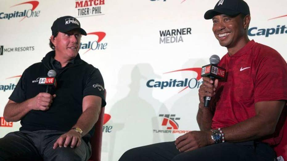 what channel is tiger vs phil on directv