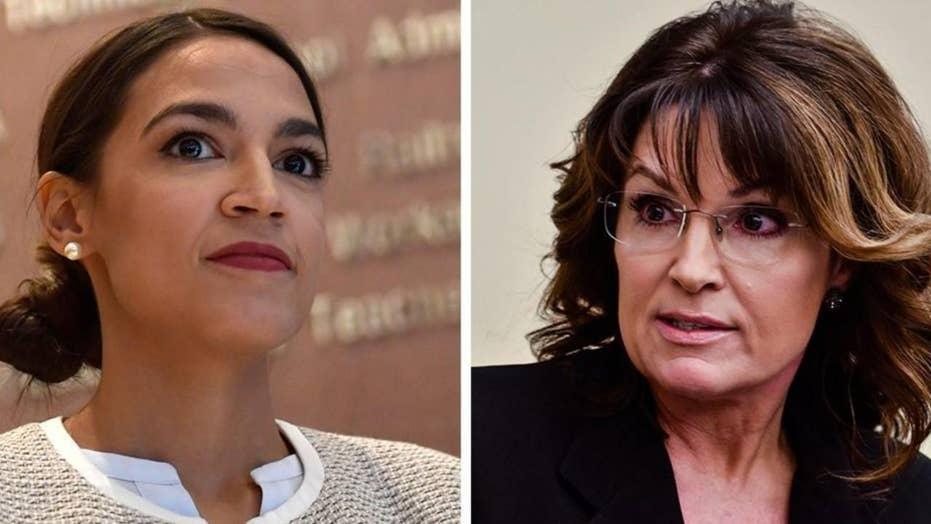 Ocasio-Cortez vs. Palin: Former Gov calls out new Rep.