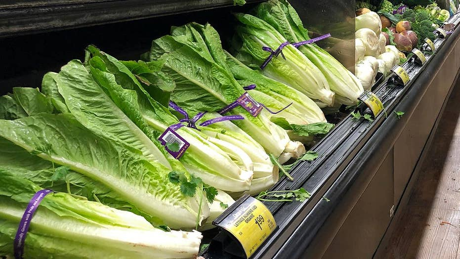 CDC warns of E. coli in romaine lettuce