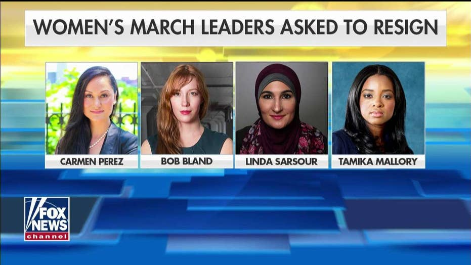 Tammy Bruce on Womens March Leaders Asked to Resign