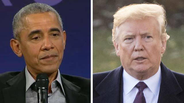 Obama takes thinly veiled shots at Trump