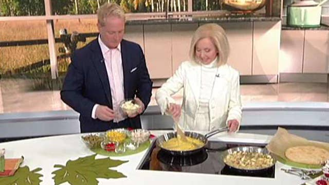 Kurt Knutsson is Cooking with 'Friends'