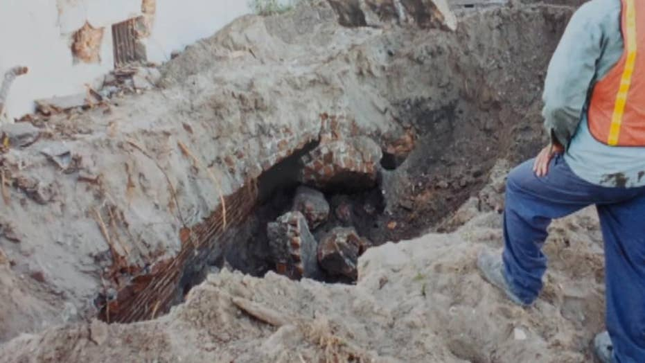 Mysterious tunnels discovered in Florida puzzle historians