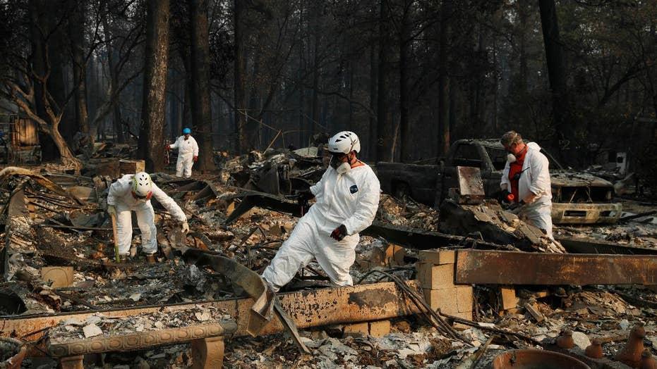 Heavy rain helps bring Camp Fire under control