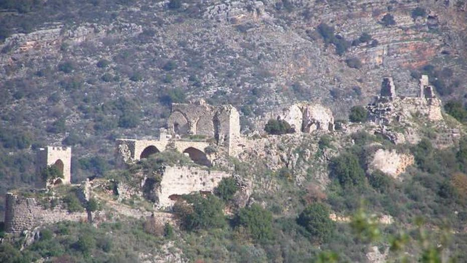 Gothic hall discovered at Crusader knights' hilltop castle