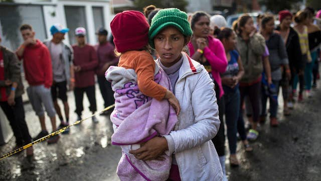 Is migrant caravan a humanitarian crisis?