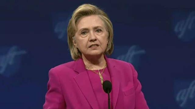 Is Clinton's stance on immigration in Europe hypocritical?
