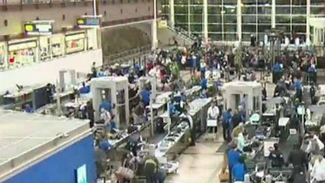 Delays expected at some major airports