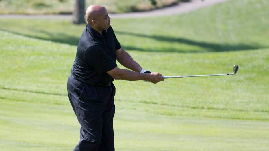 Charles Barkley slams Woods and Mickelson's 'crappy golf'